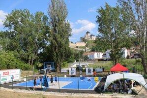 Prvé 3x3 basketbalové ihrisko v Trenčíne